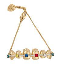 Schield - Metallic Bracelet - Lyst