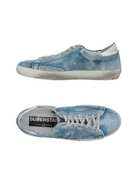 Golden Goose Deluxe Brand Blue Low-tops & Sneakers for men