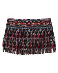 Valentino Black Mini Skirt