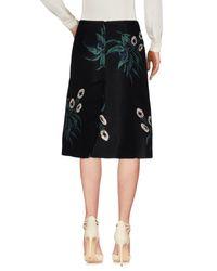 Marni Black 3/4 Length Skirt