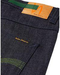 Pantalon en jean Nudie Jeans pour homme en coloris Blue