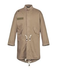 Saucony Brown Overcoat for men