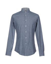 Brian Dales Gray Shirts for men