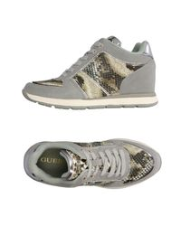 Guess Gray Low-tops & Sneakers