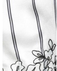 Shorts Ermanno Scervino de color White