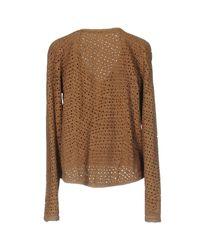 Liu Jo Brown Suit Jacket