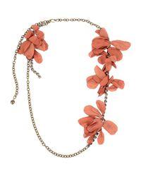 Lanvin Brown Necklace