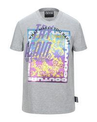 Camiseta Versace Jeans de hombre de color Gray