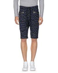 Markus Lupfer - Blue Bermuda Shorts for Men - Lyst