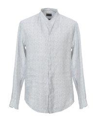 Camicia di Armani in White da Uomo
