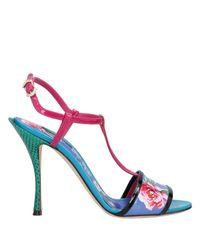 Sandales Dolce & Gabbana en coloris Blue