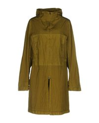 Herno Green Overcoat