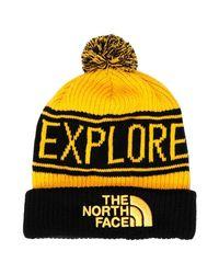 Chapeau The North Face en coloris Yellow