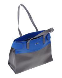 Pollini Blue Handbag