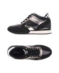 Tommy Hilfiger Black Low-tops & Sneakers
