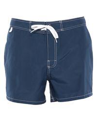 Short de bain Sundek pour homme en coloris Blue