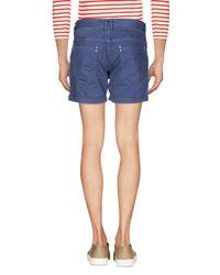 Antony Morato Blue Denim Shorts for men