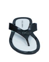 Dolce & Gabbana Zehentrenner in Black für Herren