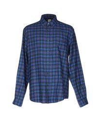 Camisa Aspesi de hombre de color Blue