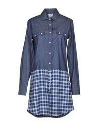 Ultrachic Blue Short Dress