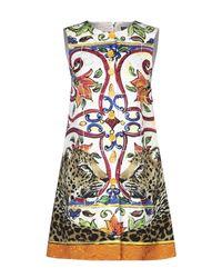 Vestito corto di Dolce & Gabbana in White