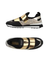 Hogan Rebel Black Low-tops & Sneakers