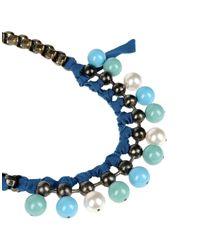 Lanvin Blue Necklace