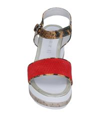 CafeNoir Red Sandals