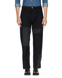 White Mountaineering Black Casual Pants for men