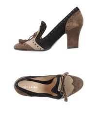 Lella Baldi - Brown Loafer - Lyst