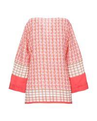 Blusa di Guglielminotti in Pink