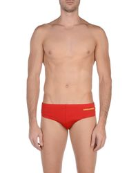 DSquared² Red Swim Brief for men