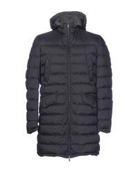 Herno Blue Down Jacket for men