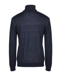 Col roulé Versace Jeans pour homme en coloris Blue
