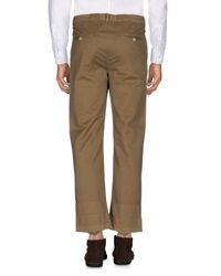 Golden Goose Deluxe Brand Natural Casual Trouser for men
