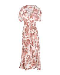 Ermanno Scervino Multicolor 3/4 Length Dress