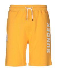 Sundek Bermudashorts in Yellow für Herren