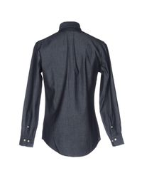 Brooks Brothers Blue Denim Shirt for men