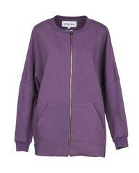 5preview Purple Sweatshirt