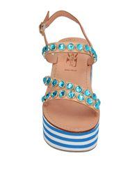 Divine Follie Blue Sandals
