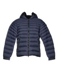 Ai Riders On The Storm Blue Down Jacket for men