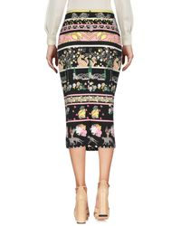 Class Roberto Cavalli Black 3/4 Length Skirt