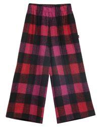 Pantalone capri di Woolrich in Red
