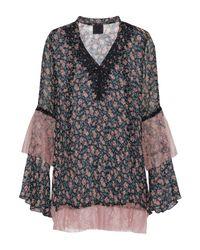 Blusa di Anna Sui in Black