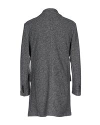 Liu Jo Gray Coat for men