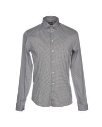 Patrizia Pepe Gray Shirt for men