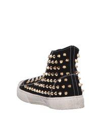 Sneakers abotinadas METAL GIENCHI de color Black