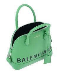 Borsa a mano di Balenciaga in Green