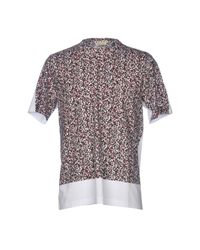 Marni White T-shirt for men