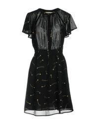 Sessun Black Short Dress
